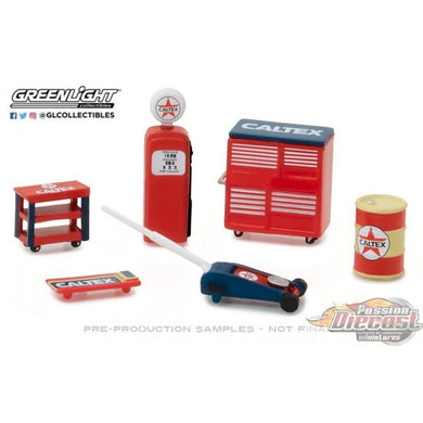 Caltex Muscle Shop Tools, 1:64 Diecast