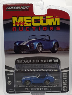 1967 Shelby Cobra 427 S/C, Mecum Auctions, 1:64 Diecast Vehicle