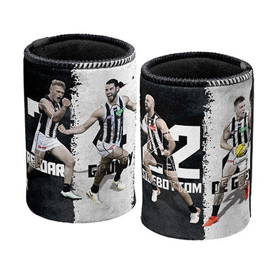Collingwood Magpies 4 Player Stubbie Holder