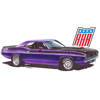 REVELL 1970 PLYMOUTH AAR CUDA 1:25 Scale Model Kit