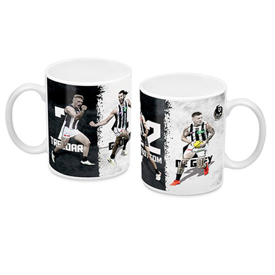 Collingwood Magpies 4 Player Coffee Mug