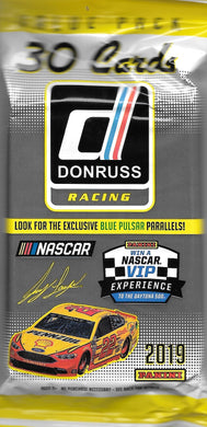 2019 Panini Donruss Racing Fat Pack