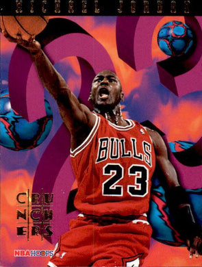 Michael Jordan, Number Crunchers, 1995-96 Hoops Basketball NBA