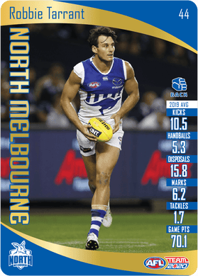 Robbie Tarrant, Gold, 2020 Teamcoach AFL