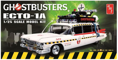 Ghostbusters ECTO-1A, Plastic Model Kit, 1:25 Scale