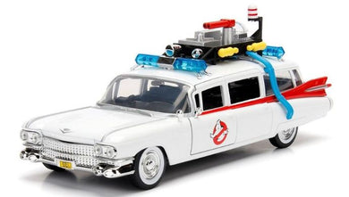 Ghostbusters ECTO-1, Hollywood Rides, 1:24 Diecast Vehicle