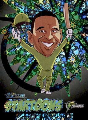 Usman Khawaja, Black Startoons #62, 2020-21 TLA Cricket Australia and BBL