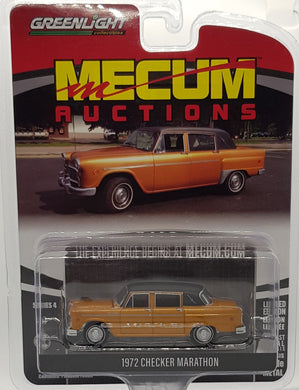 1972 Checker Marathon, Mecum Auctions, 1:64 Diecast Vehicle