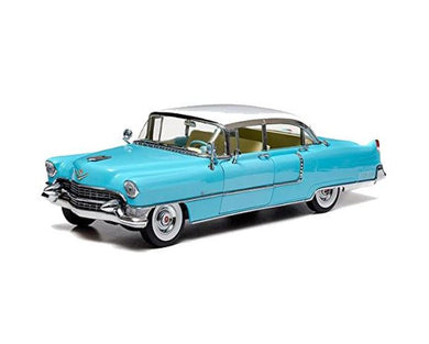 1955 Cadillac Fleetwood Blue Elvis Presley, 1:43 Diecast Vehicle