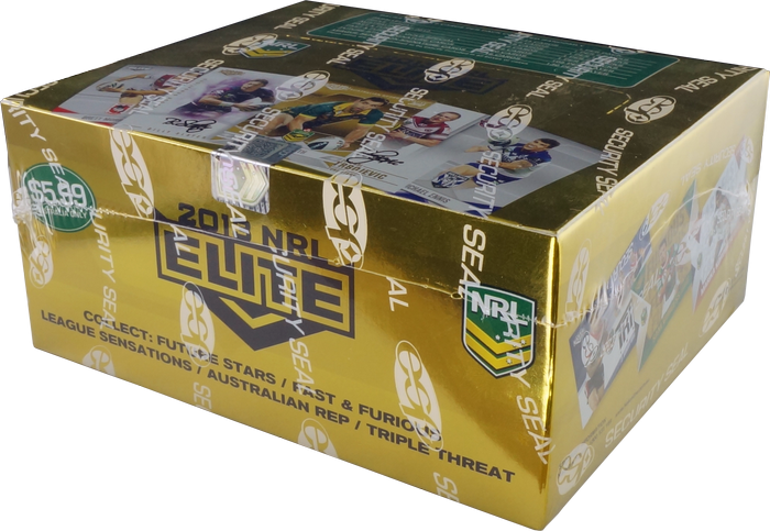 2013 esp Elite NRL 24 pack box