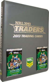 2013 esp Traders NRL Rugby League Folder