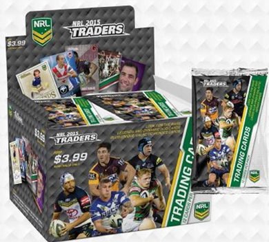 2015 Traders NRL 36 pack box