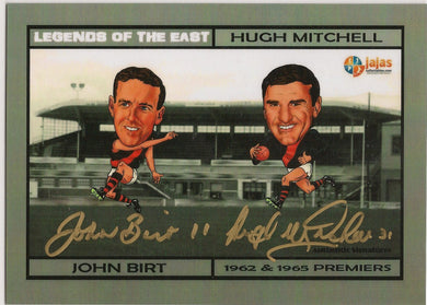 Birt & Mitchell, Legends of the East Oversised Dual, Ja Ja's Collectables