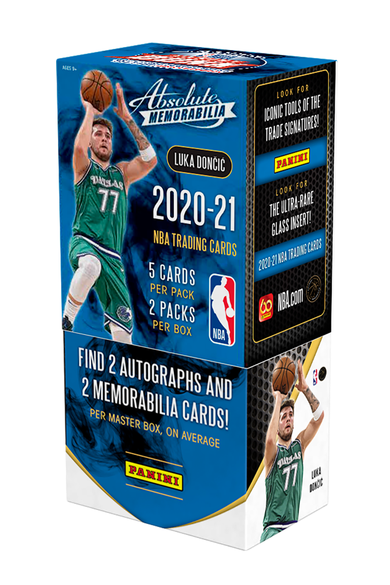 2020-21 Panini Absolute Basketball Hobby NBA Box