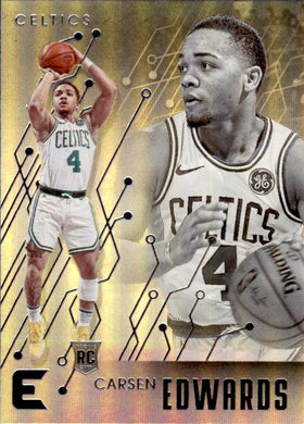 Carsen Edwards, RC, Essentials, 2019-20 Panini Chronicles NBA Basketball