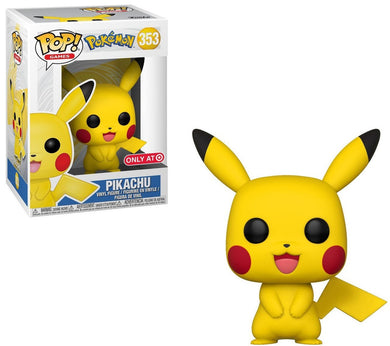 Pokemon Pikachu, Target Exclusive, Pop! Vinyl