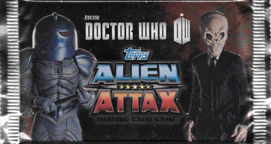 Doctor Who, 2012 Topps Match Attax Pack