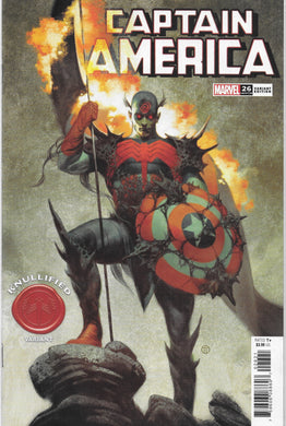 Captain America #26, Knullified Variant Comic (2020)