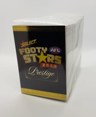 2020 Select PRESTIGE Footy Stars AFL Base Set of 199 cards