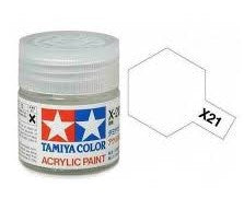 TAMIYA ACRYLIC MINI X-21 FLAT BASE 10ml