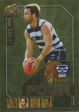 Jimmy Bartel, Fab Four, 2011 Select AFL Champions