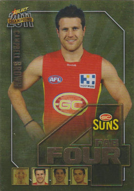 Campbell Brown, Fab Four, 2011 Select AFL Champions
