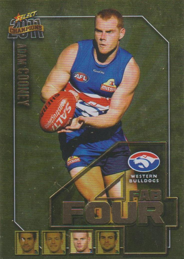 Adam Cooney, Fab Four, 2011 Select AFL Champions