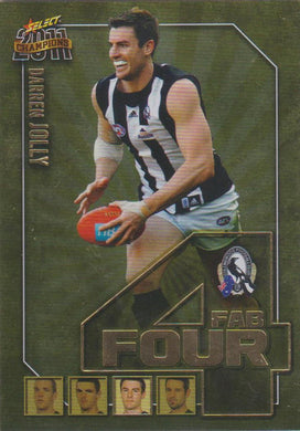 Darren Jolly, Fab Four, 2011 Select AFL Champions