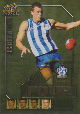 Hamish McIntosh, Fab Four, 2011 Select AFL Champions