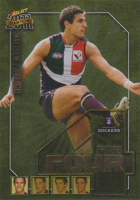 Matthew Pavlich, Fab Four, 2011 Select AFL Champions