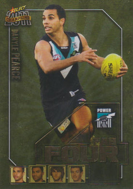 Danyle Pearce, Fab Four, 2011 Select AFL Champions
