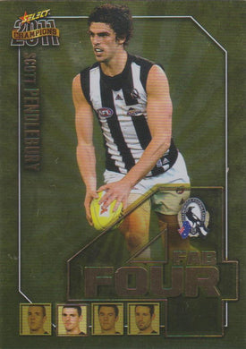 Scott Pendlebury, Fab Four, 2011 Select AFL Champions