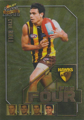 Cyril Rioli, Fab Four, 2011 Select AFL Champions