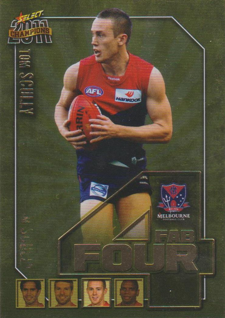 Tom Scully, Fab Four, 2011 Select AFL Champions