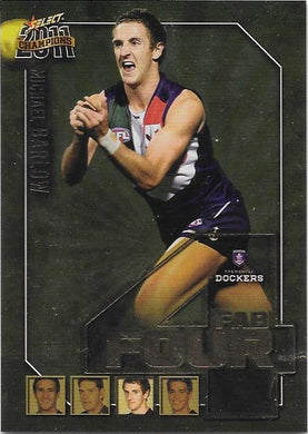 Michael Barlow, Fab Four, 2011 Select AFL Champions
