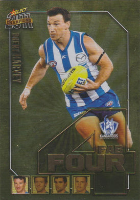 Brent Harvey, Fab Four, 2011 Select AFL Champions