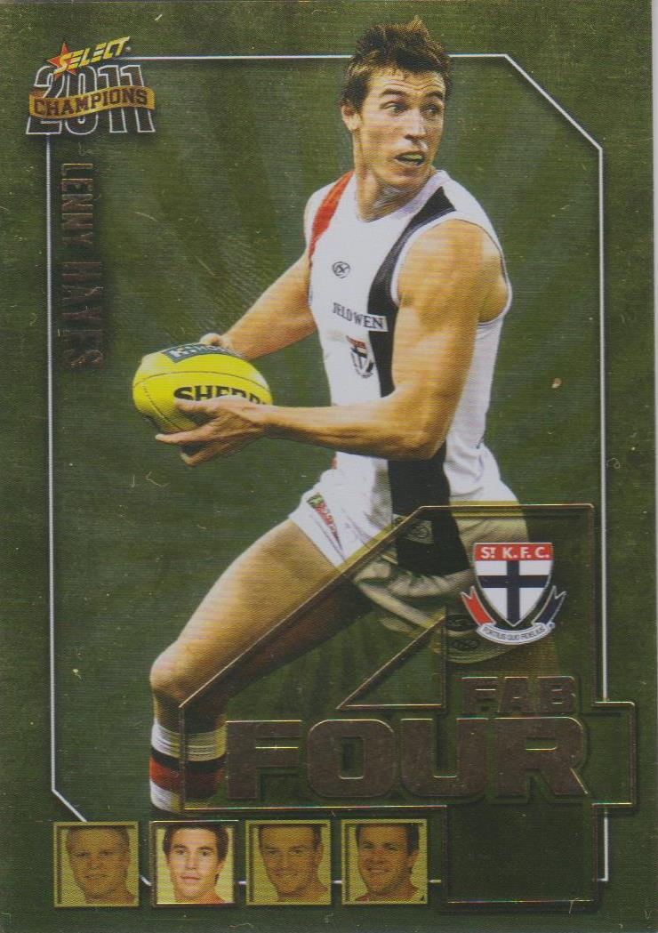 Lenny Hayes, Fab Four, 2011 Select AFL Champions