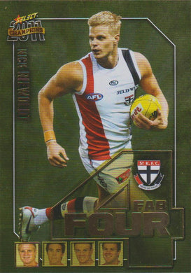Nick Riewoldt, Fab Four, 2011 Select AFL Champions