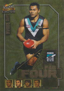 David Rodan, Fab Four, 2011 Select AFL Champions