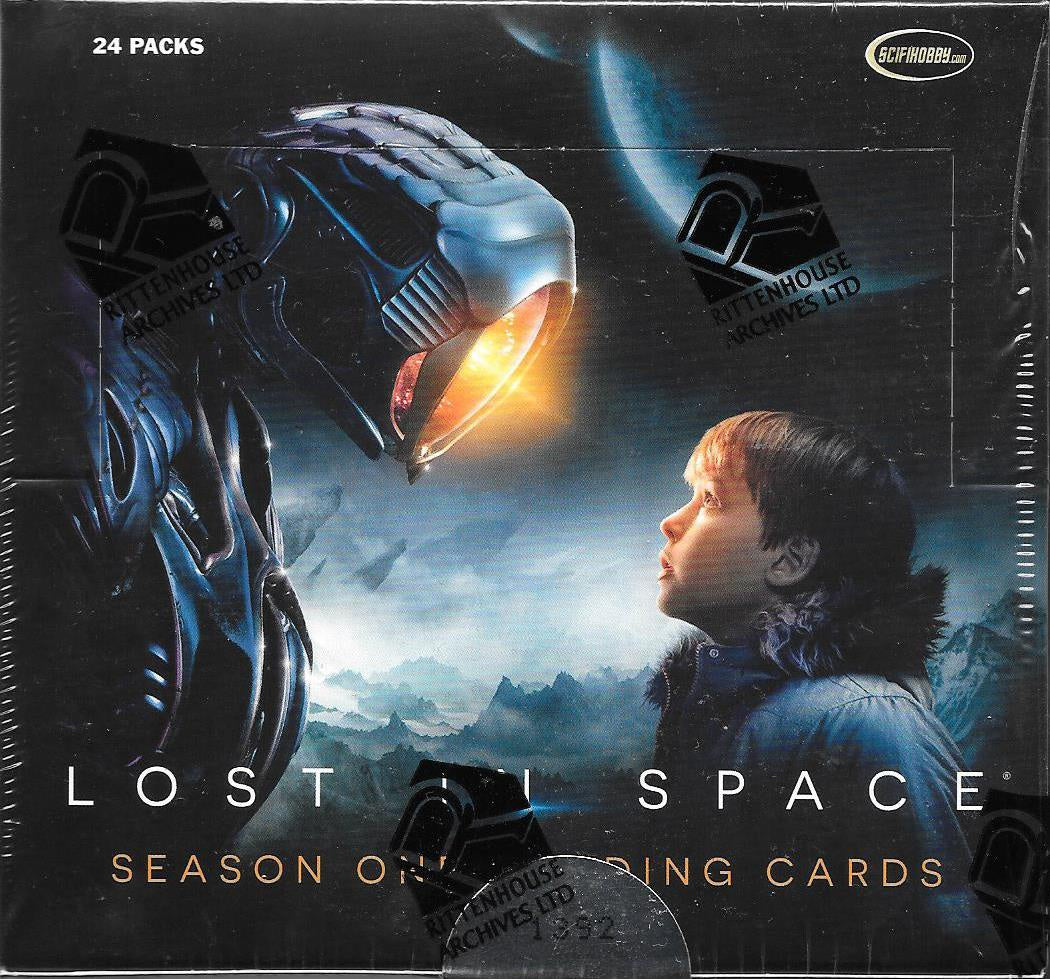 Lost In Space Season One Trading Cards Box.