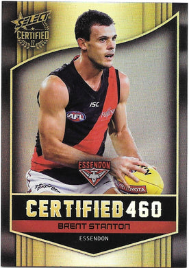 Brett Stanton, Certified 460, 2017 Select AFL Certified