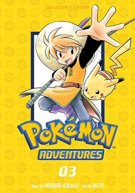 Pokémon Adventures Collector's Edition, Vol. 3 Comic Book