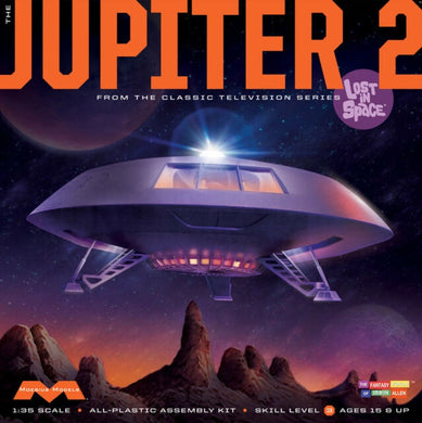 Lost in Space Jupiter 2 Plastic Model Kit, 1:35 Scale