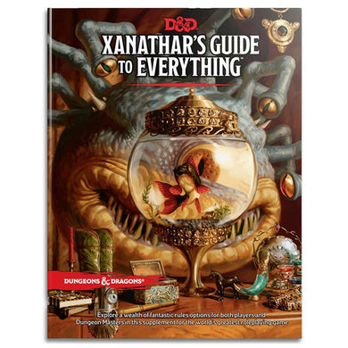 D&D Dungeons & Dragons Xanathar's Guide to Everything