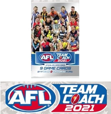 COMBO: 2021 Teamcoach AFL 36 pack box & album