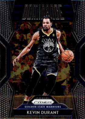 Kevin Durant, Dominance, 2018-19 Panini Prizm Basketball NBA