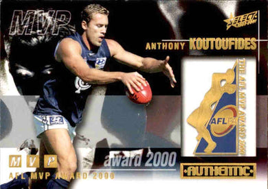 Anthony Koutoufides, MVP Award, 2001 Select AFL Authentic