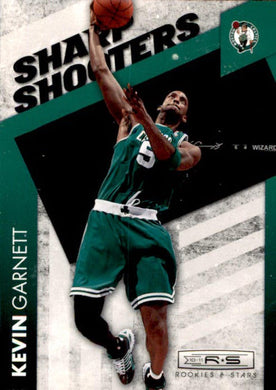 Kevin Garnett, Sharp Shooters, 2010-11 Panini Rookies & Stars Basketball NBA