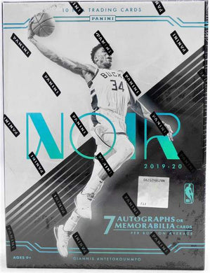 2019-20 Panini Noir Basketball Hobby Box