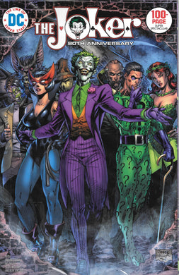 The Joker 80th Anniversary 100 Page Super Spectacular #1, 1970's Jim Lee Cover, Comic Book